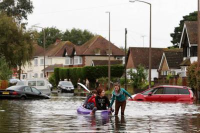 Скоро наводнений в Европе будет в 2 раза больше