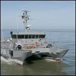 Латвия получила последний патрульный корабль типа «Скрунда»