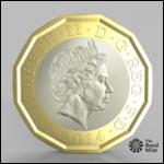 Великобритания обновит однофунтовую монету впервые за 30 лет