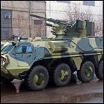 Украинская гвардия получит сотню бронетранспортеров