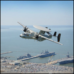 ВМС США приняли на вооружение «летающий радар» E-2D