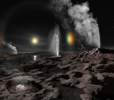 Найдутся ли у бывшей планеты следы скрытого океана?