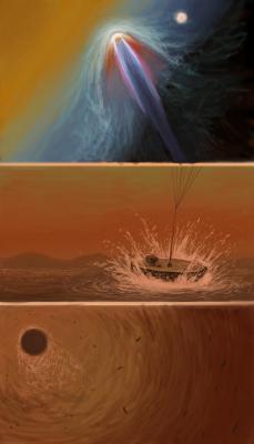В морях Титана парус может быть лучше винта