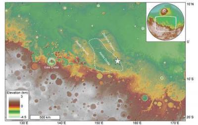 Исследователи заявили о существовании океана на Марсе