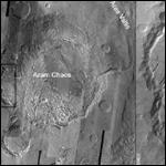 Ученые выяснили причины древнего наводнения на Марсе