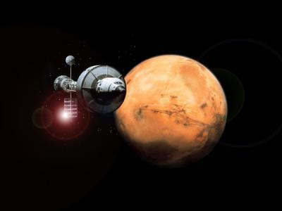 Марсианские туристы прилетели со своим компасом?