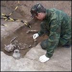 В Азове нашли два древних захоронения