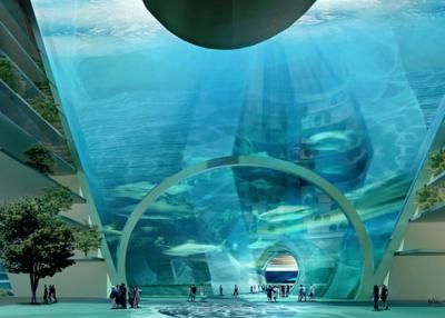 В Китае планируют построить подводный город-остров