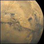 Российские астрономы изучили аэрозоли в атмосфере Марса