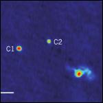 Найдена система трех сверхмассивных черных дыр