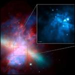 Пульсирующее излучение от черной дыры помогло оценить ее массу