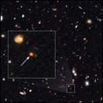 Ученые зафиксировали интенсивное зарождение звезд в молодой галактике