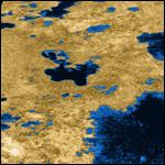 Планетологи изучили подземные водоемы Титана
