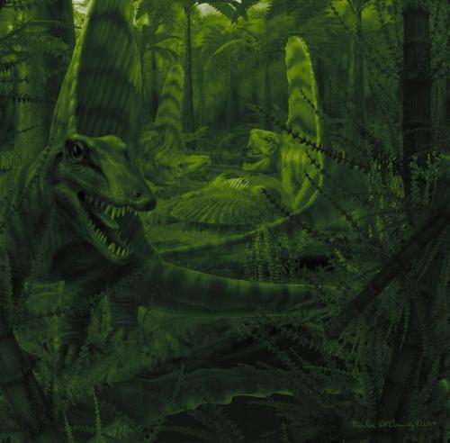 С динозавров сняли вину за принуждение млекопитающих к ночному образу жизни