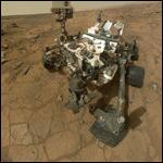 Марсоход добрался до пункта назначения