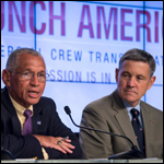 США объявили о возвращении программы пилотируемых полетов