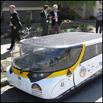 Автомобиль на солнечных батареях проехал более 500 километров