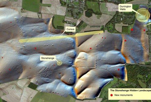 В окрестностях Стоунхенджа нашли неизвестные ритуальные сооружения