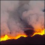 Беспилотник заснял извержение вулкана Бардарбунга на сгоревшую видеокамеру