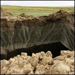 Загадочную воронку на Ямале связали с Бермудским треугольником