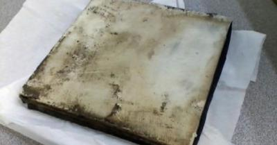 В Нью-Джерси с неба свалился таинственный квадратный металлический объект