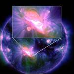 Солнце: Самое крупное за последние 10 лет пятно разразилось новой вспышкой высшего класса