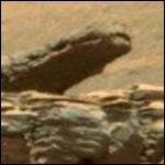Марсоход Curiosity сфотографировал гигантского крокодила на Марсе