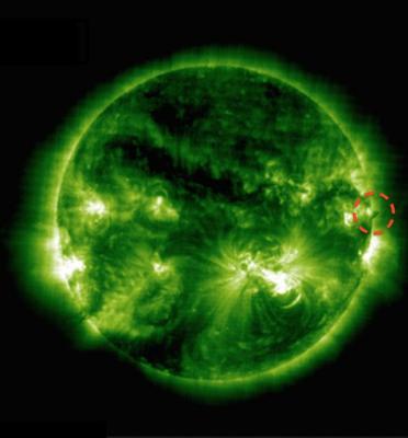 Гигантское НЛО размером с Землю нашли около Солнца