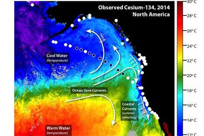 Фукусимский цезий добрался до западного побережья США