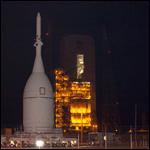 Космический корабль Orion доставлен на пусковую площадку мыса Канаверал