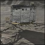 Philae удалось забить пенетратор в ядро кометы