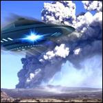 Инопланетяне построили базы под вулканами на Земле
