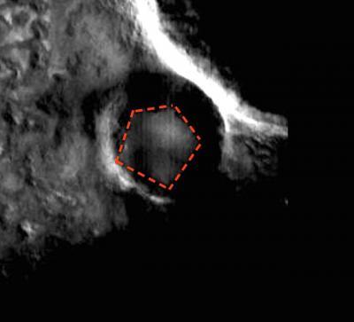 На Марсе нашли подземный Пентагон