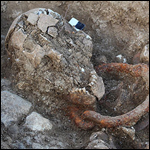 Французские археологи нашли скелеты в оковах