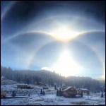 В штате Нью-Мексико небо озарилось северным сиянием