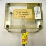 Пропавший образец с первым плутонием-239 нашли на помойке