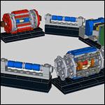 Физик построил модель Большого адронного коллайдера из кубиков LEGO