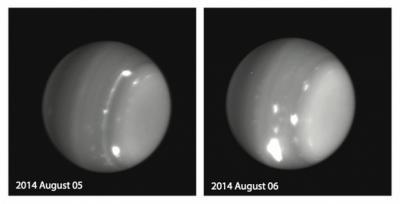Планетологов заинтересовали гигантские бури на Уране