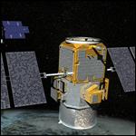 НАСА показало анимацию своей орбитальной группировки спутников