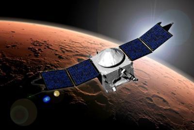Зонд MAVEN обнаружил в атмосфере Марса таинственное облако