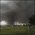 Ученые дали мочь посмотреть на торнадо изнутри