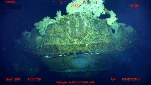 Крупнейший в мире линкор нашли на дне моря с поддержкой мегаяхты