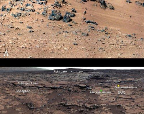 Ровер Curiosity нашел на Марсе возможные следы древней экосистемы