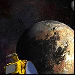 Станция New Horizons сделала первые цветные снимки Плутона и Харона