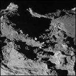 Зонд Rosetta снял газопылевую струю от кометы Чурюмова-Герасименко