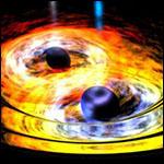 Обнаружена самая тесная двойная сверхмассивная черная дыра
