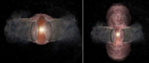 Ученые повествовали о 18-летнем наблюдении зa рождением звезды