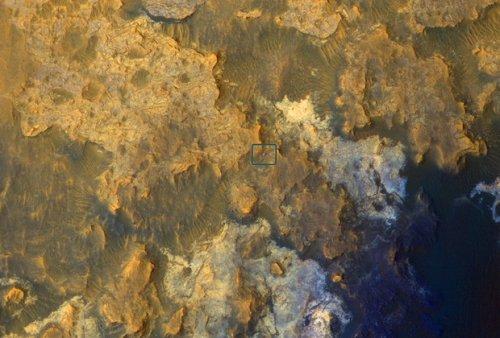 Орбитальная станция НАСА сделала воспроизведение путешествующего марсохода