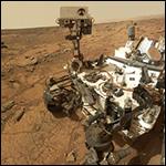 Ровер Curiosity снял видео заката на Марсе