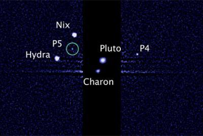 New Horizons сфотографировала все спутники Плутона